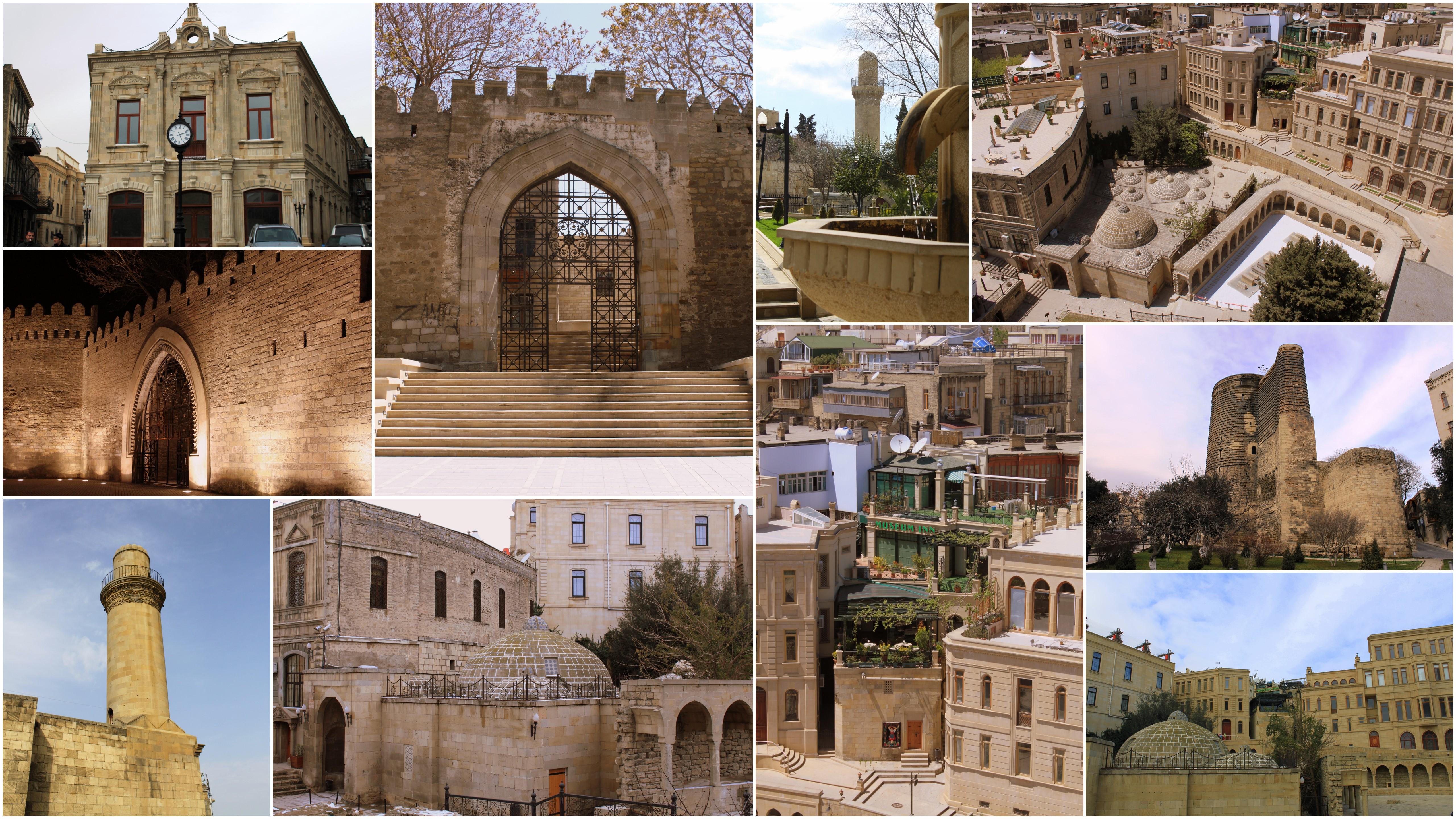 Путешествие в Азербайджан, старый Баку