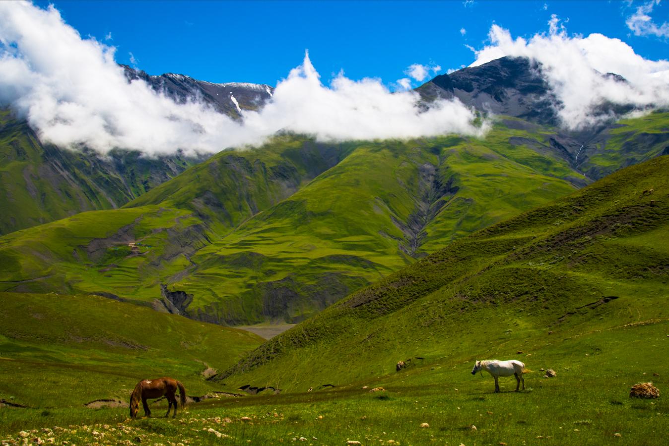 Путешествие в Азербайджан, в гости к жителям высокогорных поселков