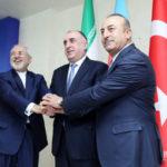 Azərbaycan, İran və Türkiyə XİN başçılarının Bakı Bəyannaməsinin mətni açıqlanıb