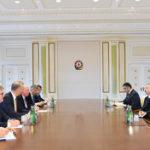 Azərbaycan Prezidenti Avropa Komissiyasının nümayəndə heyətini qəbul edib - YENİLƏNİB